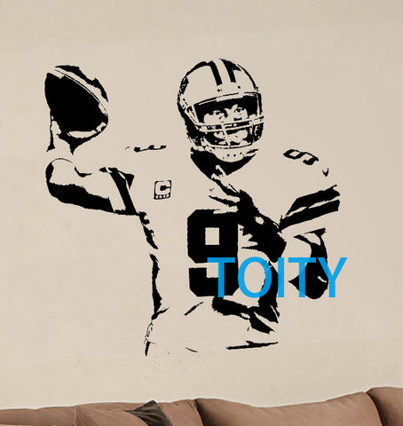 Tony Romo Wall Sticker - NFL