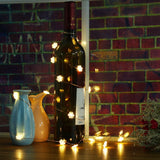 120CM Snowflake Shaped Flexible String Light - Battery Powered