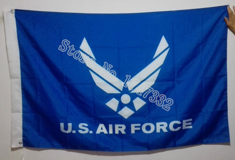 USAF United States Air Force Blue Flag 3x5FT Polyester Material