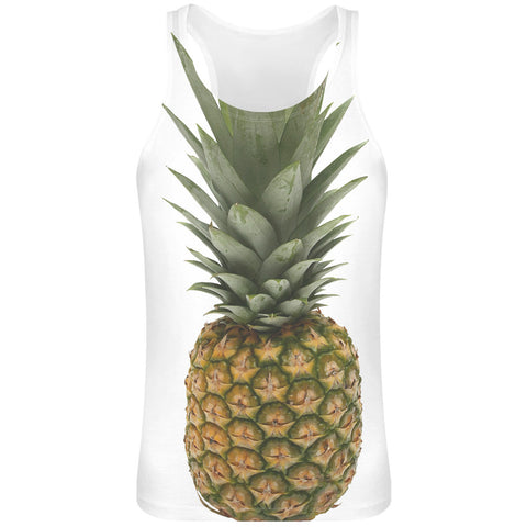 Devan's Pineapple Sublimation Tank Top T-Shirt  - 100% Soft Polyester