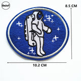 Astronaut Embroidered Iron On Patch