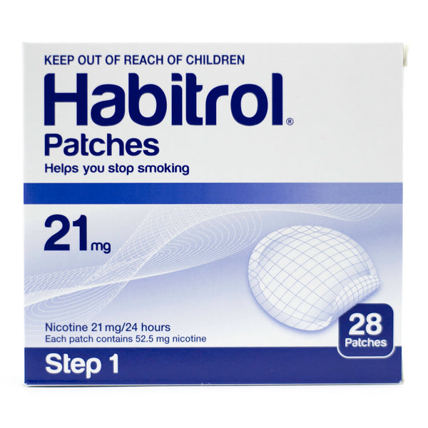 STEP 1 Habitrol Transdermal 21mg Nicotine Patches, 28 Pieces