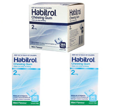 Habitrol Gum Combo 2mg Mint Flavor (1 bulk, 2 regular, 576 pieces)