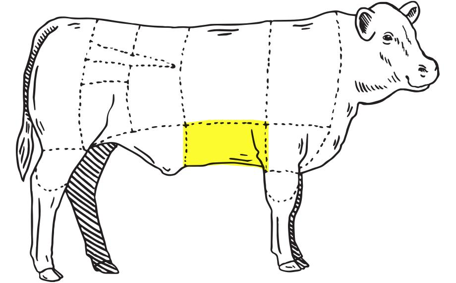 meat location illustration