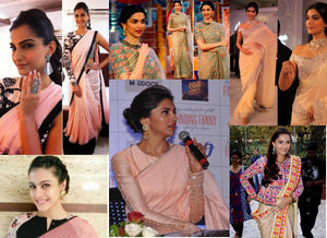 Ethnic saree ideas inspired by Bollywood stars