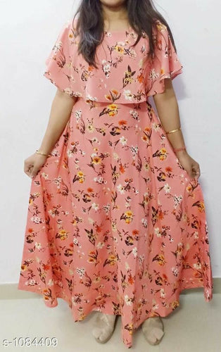 Adelyn Stylish American Crepe Printed Dresses Vol 1