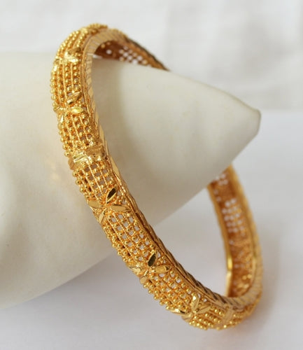 Simple Gold plated bangle - Bangle by Shrayathi