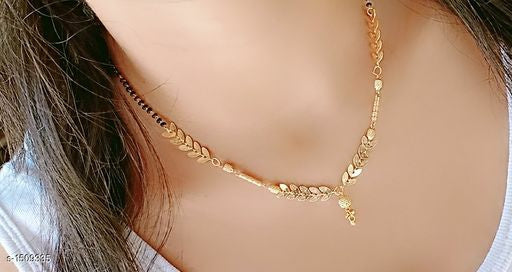 Feminine Beautiful Brass Mangalsutras