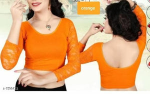 Diva Unique Designer Cotton Spandex Blouses Vol 2