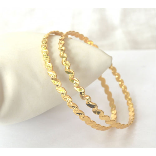 Elegant twisted bangle - Bangle by Shrayathi