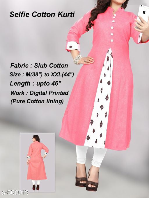 Aamara Slub Cotton Kurtis Vol 8