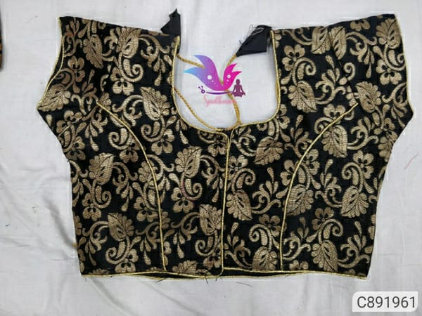 Fancy Brocade Jacquard Weaving with Hook Blouses