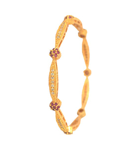 Multicolor stone bangle - Bangle by Shrayathi