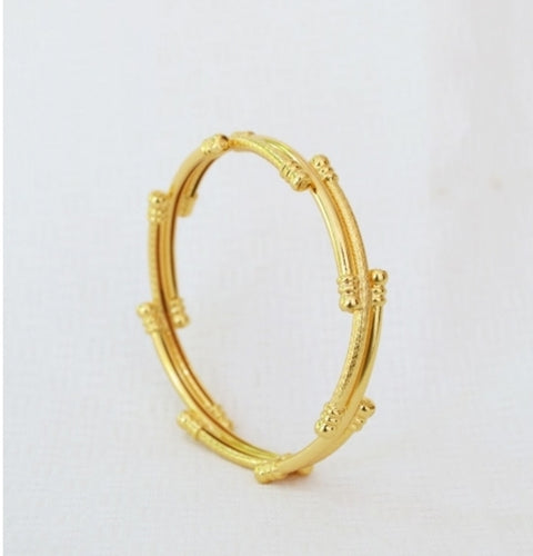 Trendy twisted bangle - Bangle by Shrayathi