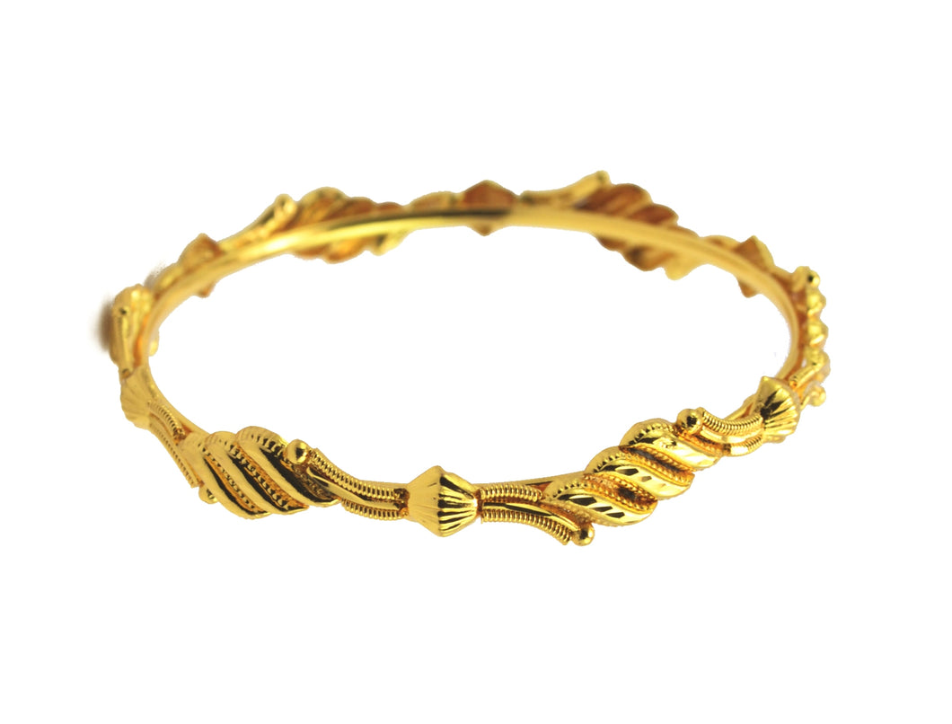 Designer Gold Plated Bangle - Bangle by Shrayathi