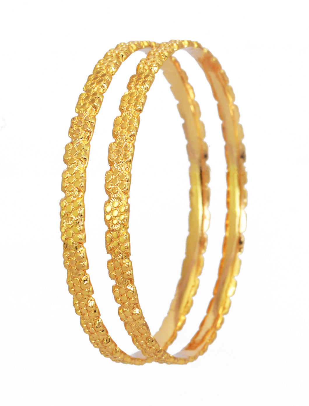 Pair of traditional design bangle. - Bangle by Shrayathi