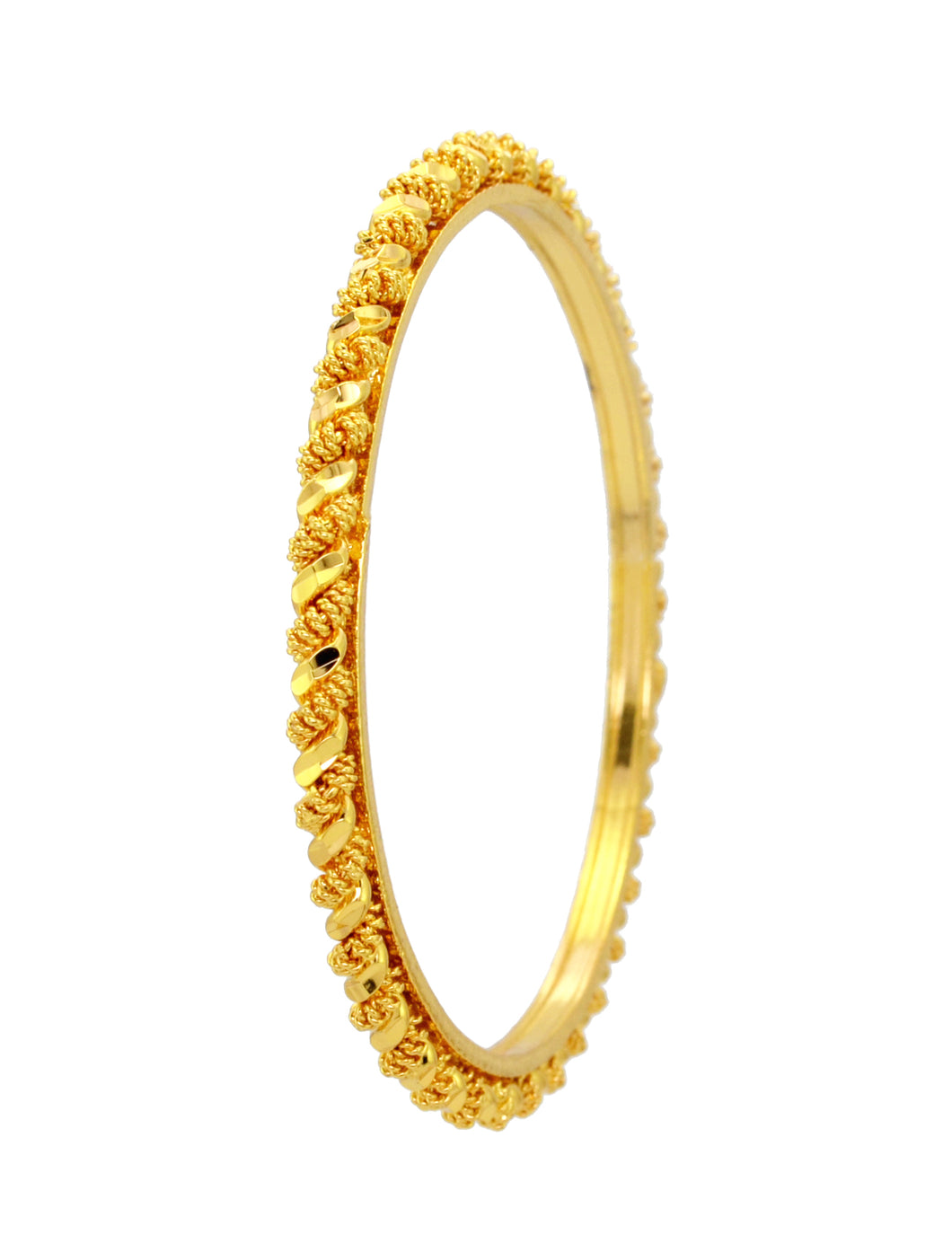 Beautiful twisted bangle - Bangle by Shrayathi