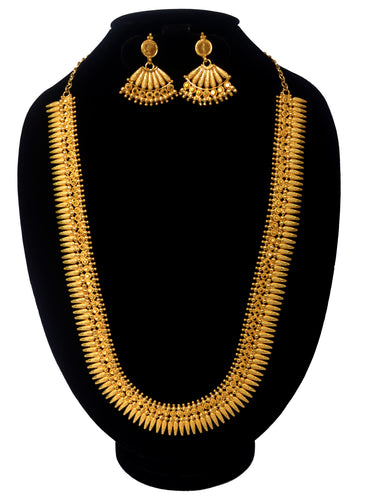 Classic and attractive mullamott necklace -  by Shrayathi