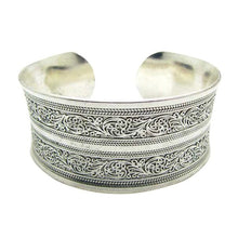 Tibetan Tibet Totem Bangle Jewelry Retro Cuff Wide Bracelet Bangle -  by Shrayathi