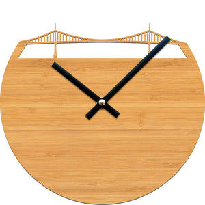 Portland Bridge Clock