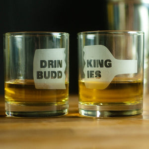 Drinking Buddies Glasses