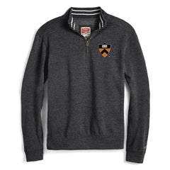 Princeton - Tri-Blend - Collegiate - Left Chest Shield - 1/4 Zip