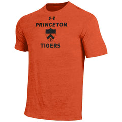 Princeton Tigers - Under Armour - Tri-Blend - Shield - Tee