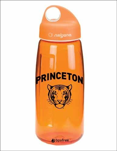 Orange Nalgene Water Bottle - 24 oz.