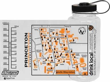 Nalgene Drink Local Map Waterbottle