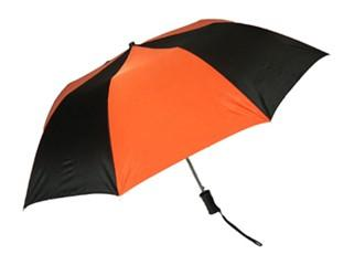 "Princeton 48"" Folding Umbrella (Black/Orange Panels)"