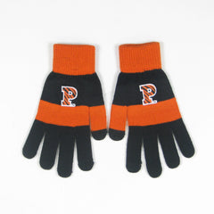 Smartphone Magic Gloves - Black/Orange Stripe