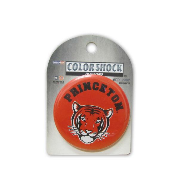 Princeton Tiger Face Button