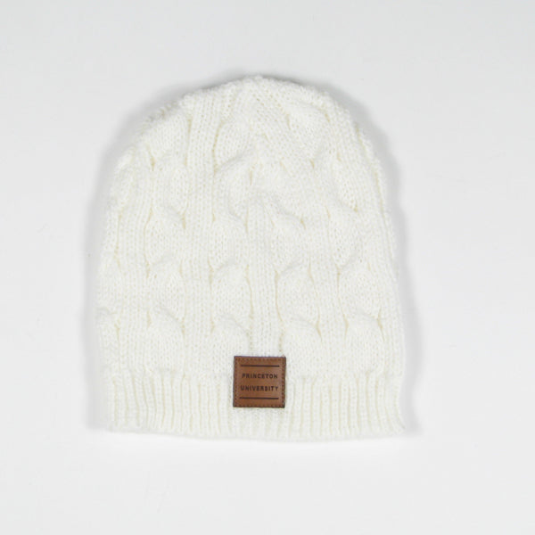 Classic Cable Knit Beanie