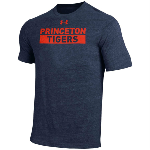 Princeton Tigers - Under Armour - Tri-Blend - Bar - Tee