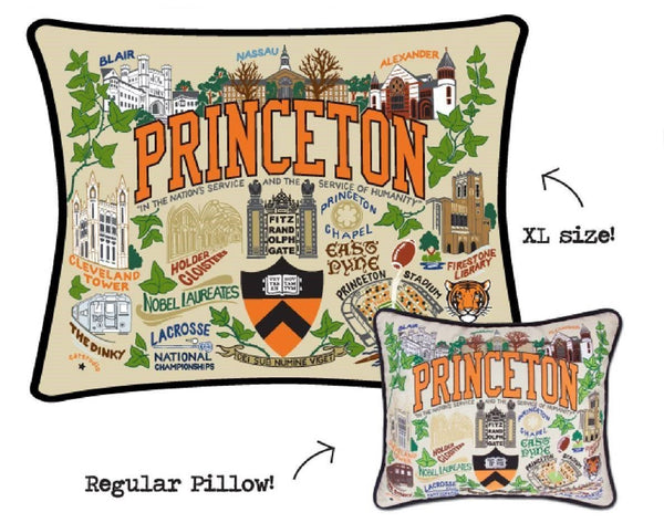 Princeton XL Embroidered Pillow - Catstudio
