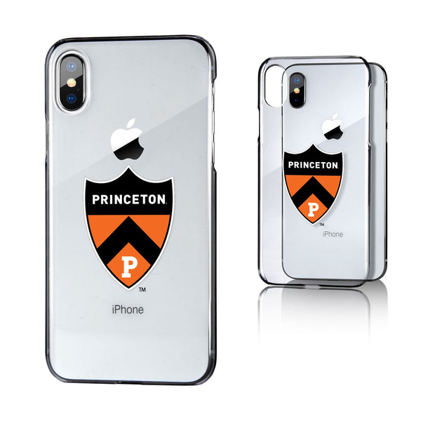 Princeton iPhone X Case - Clear