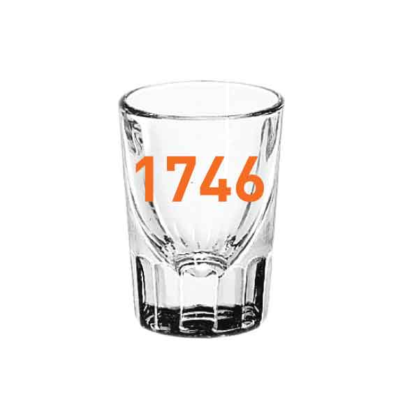 1746 Shot Glass - 2 oz.
