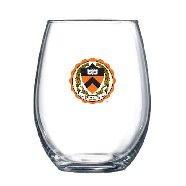 Full Color Decal Stemless Wine Glass - 12 oz.