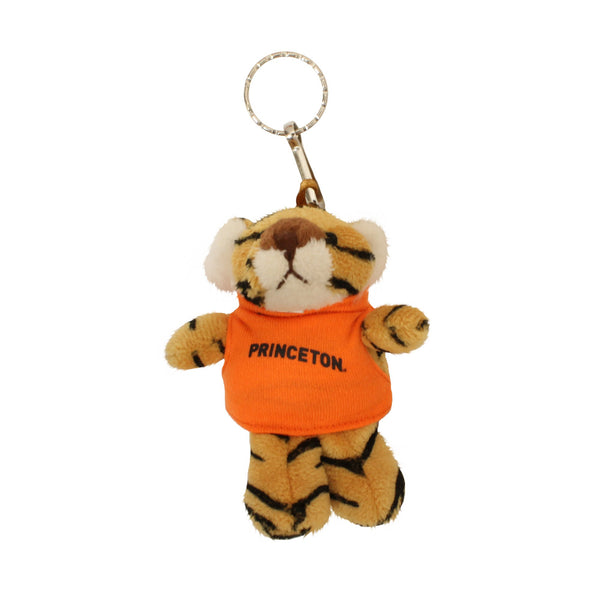 Plush Tiger Keychain