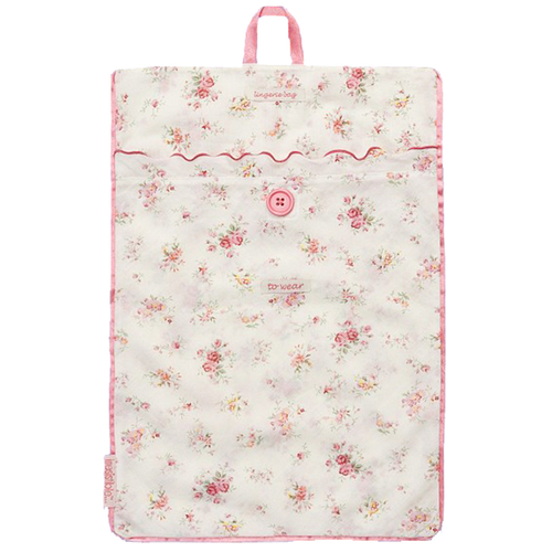 Floral Cotton Lingerie Bag