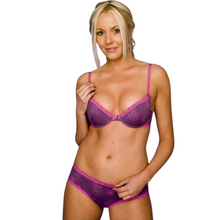Adore Lingerie Gift Set - includes 1 Bra and 2 Shorts in a Gift Box (A to D cup)