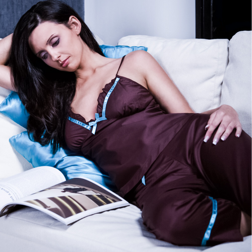 L'Amour PJ Gift Set - includes 2 PJ sets, one in each colour, in a Gift Box (8 to 16)