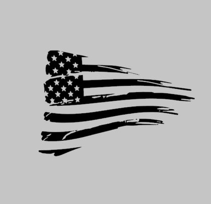 American flag decal sticker for chevorlet camaro 2016 and newer