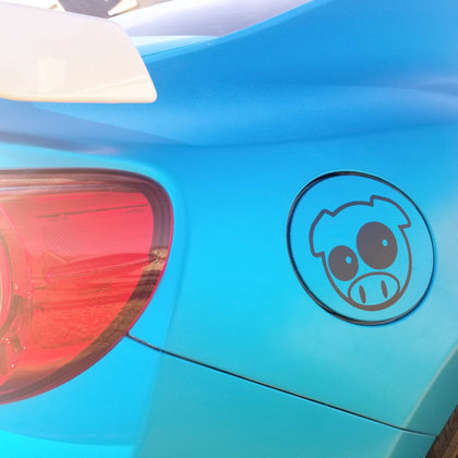 pig vinyl decal sticker for gas cap for frs fr-s brz gt86 ft86 86