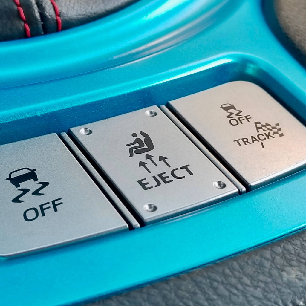 eject fake button decal sticker for toyota 86 gt86 scion fr-s frs subaru brz