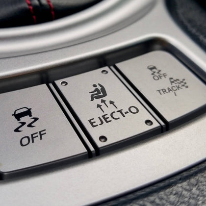 eject ejecto eject-o decal sticker for fake button by shifter for scion frs fr-s toyota 86 gt86 ft86 and subaru brz