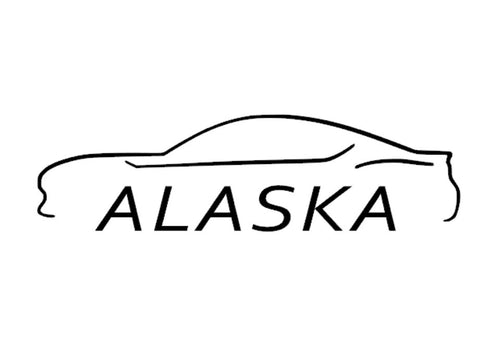 FT86 BRZ GT86 FRS FR-S 86 Vinyl Decal Sticker Bodyline State Alaska AK