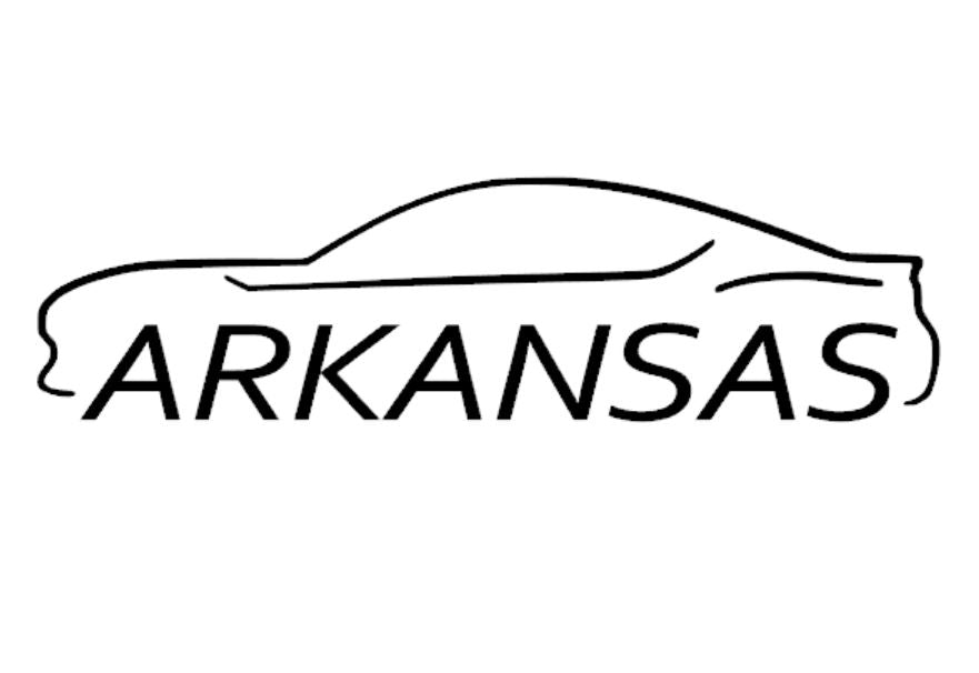 FT86 BRZ GT86 FRS FR-S 86 Vinyl Decal Sticker Bodyline State Arkansas AR