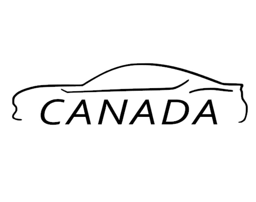 FT86 BRZ GT86 FRS FR-S 86 Vinyl Decal Sticker Bodyline State Canada CA