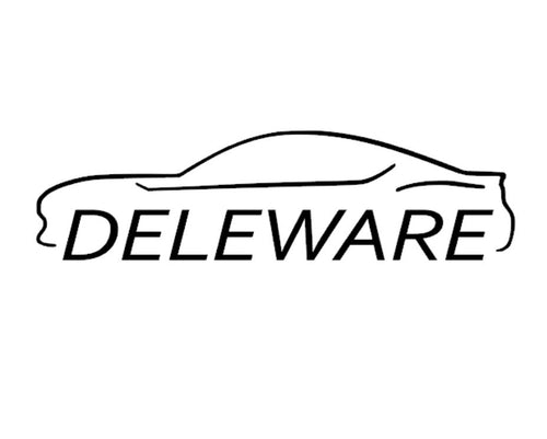 FT86 BRZ GT86 FRS FR-S 86 Vinyl Decal Sticker Bodyline State Deleware DE